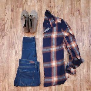 Sonoma Cozzy Fall Flannel Medium